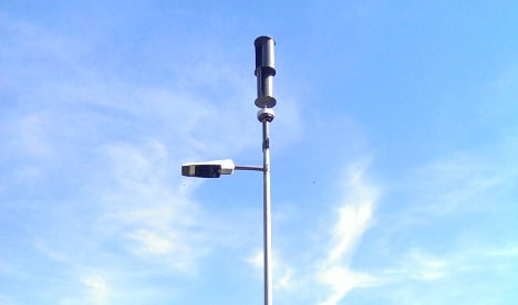 Wind-powered lamps to light German island's streets