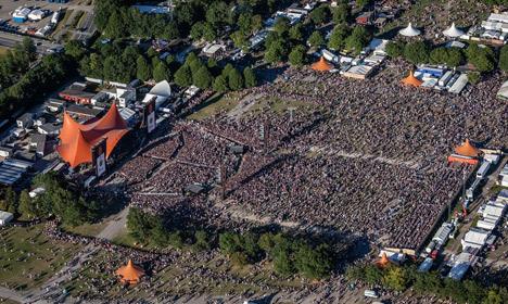 Roskilde Festival volunteers to receive terror training