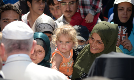 Pope Francis is 'our saviour' – Syrian refugees