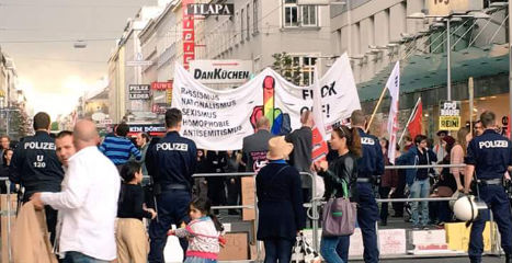 Pegida demo in Vienna short on numbers