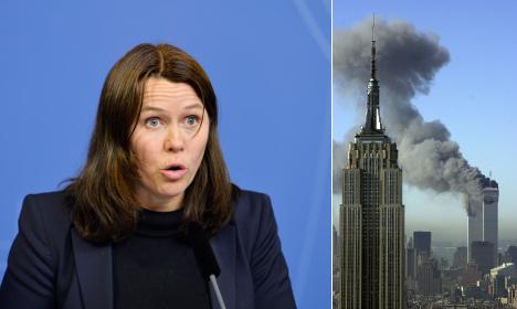 Sweden's deputy leader defends 9/11 'accident' gaffe