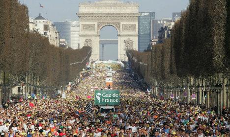 Paris marathon to take place amid tight security