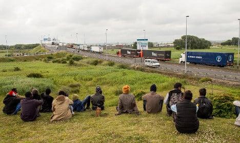 Motorists 'beaten by migrants' in French motorway rest area