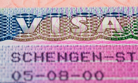 Denmark unable to process or issue visas