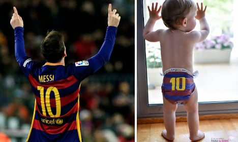 Meet the Swedish man putting the Messi into baby changing