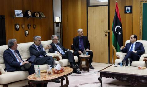 Spanish ambassador joins UK and France on visit to Libya