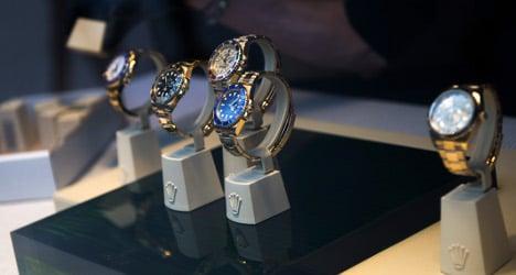 Swiss watch exports take sharp plunge