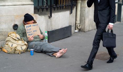 Alarm over steep rise in poverty in Paris region