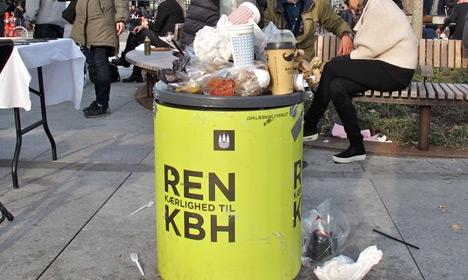 Copenhagen weighs 'rubbish deposit' plan