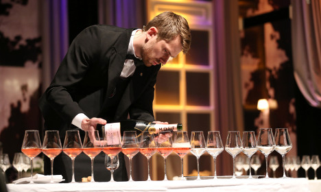 Who's the Swede named the world's best sommelier?