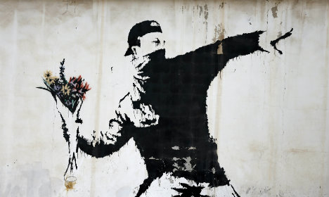 Largest show of Banksy's works opens in Rome