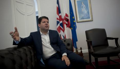 Gibraltar leader fears Spain sovereignty push over Brexit