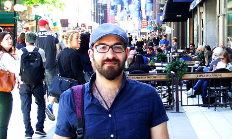 How a Syrian writer fled to Sweden after a torturer's castration threat