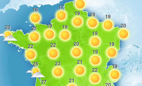 French set to enjoy long Ascension weekend in the sun
