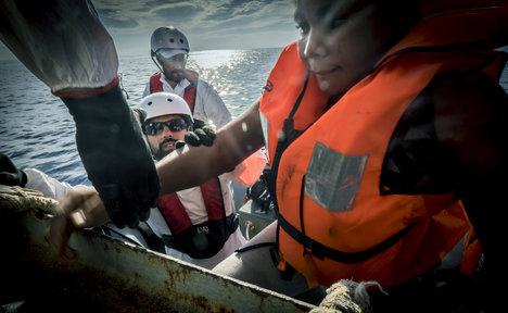 Over 2,000 stricken migrants rescued in the Mediterranean