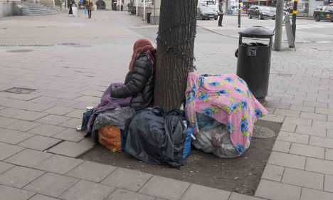Police: 'Beggars limit access for disabled'
