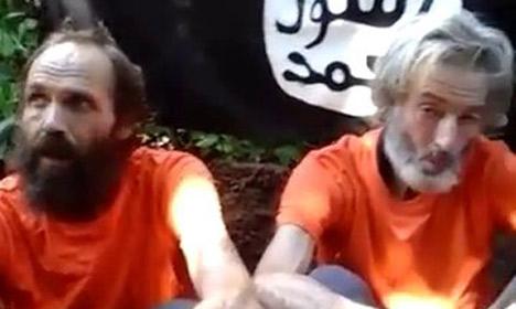 Militants release 'final message' from Norwegian