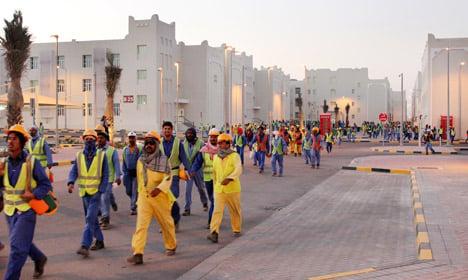 Scandinavian players slam 'modern day slavery' in Qatar