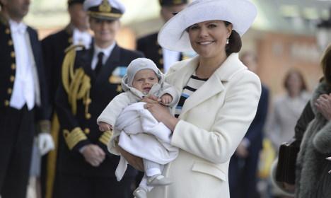 Sweden gets ready for Prince Oscar's baptism