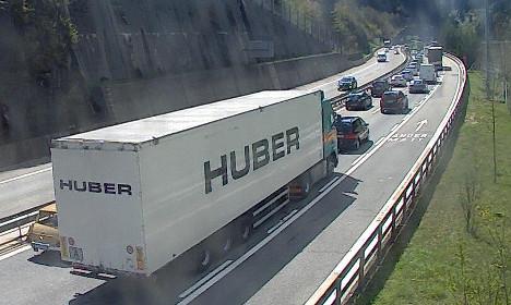 Switzerland braces for heavy holiday traffic