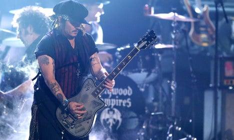 Fans threatening boycott of Johnny Depp's Stockholm gig