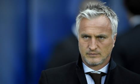 French ex-football star Ginola 'improving' after heart attack