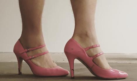 Why this Swedish handyman wore high heels to work