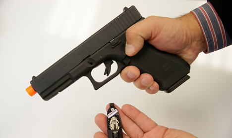 Swedish pensioner 'pulled fake gun' on salesman