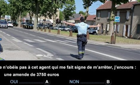 New driving theory test proves too tough for French learners