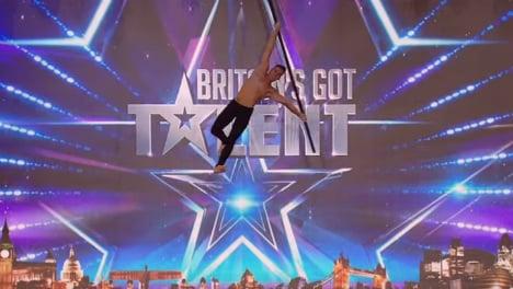 Pole dancer from Spain makes bid for British stardom