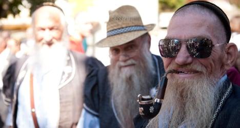 Swiss beard society marks 75 years of alpine tradition
