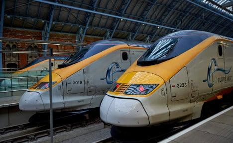 Fewer passengers ride Eurostar over terror fears