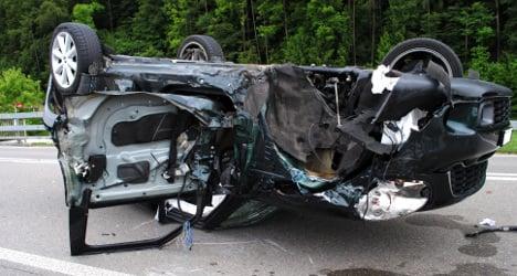 Swiss woman survives horrific crash unscathed