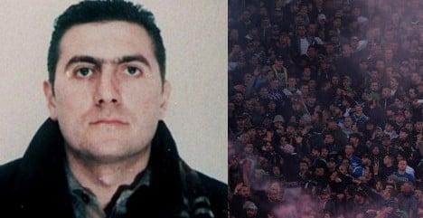 Italian football hooligan gets 26 years for rival fan's murder