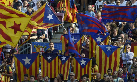 Catalan flag allowed at Spain's cup final after ban lifted