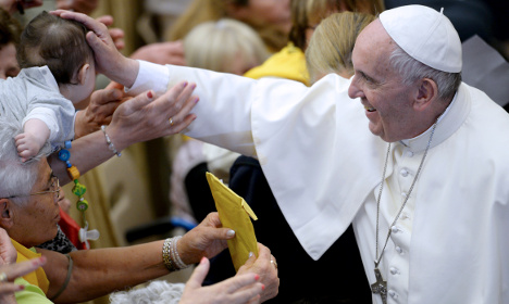 'Pray I become poorer,' Pope tells missionary doctors