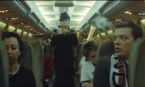 Lufthansa's Euro 2016 ad takes aim at England