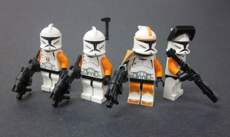 Toy 'arms race' turning Lego violent: study