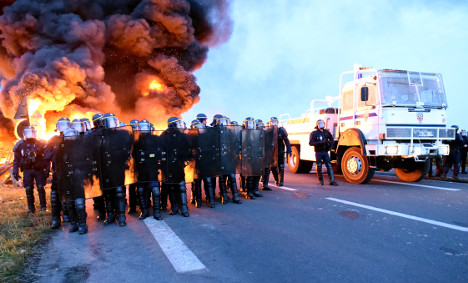 France starts using strategic reserves as fuel runs dry