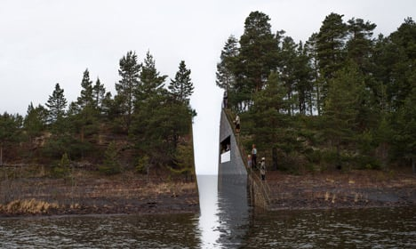 Norway won't change plans for Utøya memorial