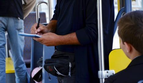 Raging ticket controller seizes Chinese traveler's passport