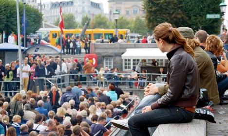 American tourists flocking to Copenhagen