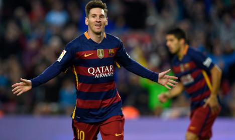Barcelona agree 'world record kit deal'