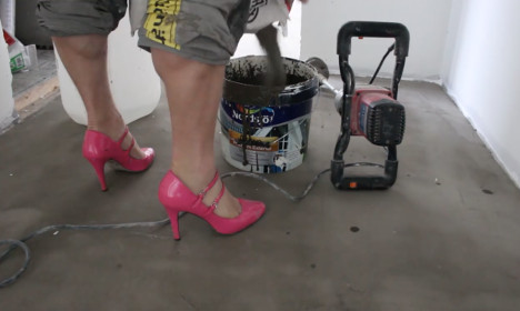 The top reactions to Swedish high heels handyman video