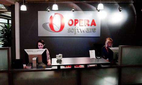 Shareholders at Norway's Opera accept Chinese bid
