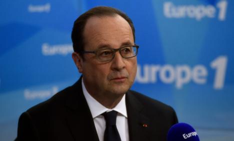 Hollande 'won't back down' on labour market reform