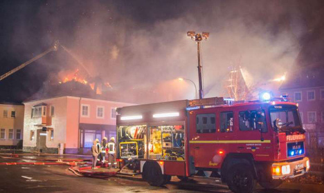 Increase in arson at German refugee centres: police