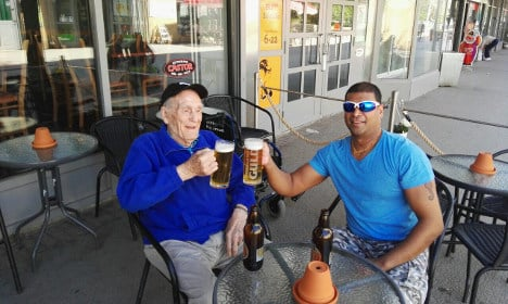 How a war veteran's thirst for beer forged a great friendship