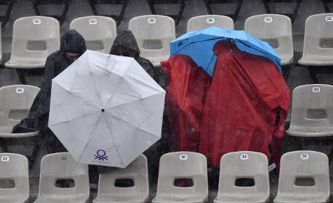 Torrential rain leaves parts of France under water