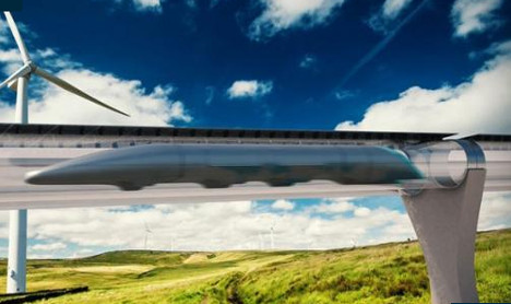 Paris to Rome in one hour: France backs the Hyperloop